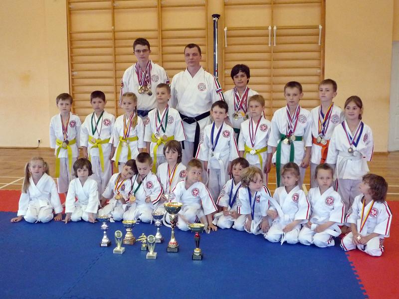 Соревнования по каратэ для начинающих