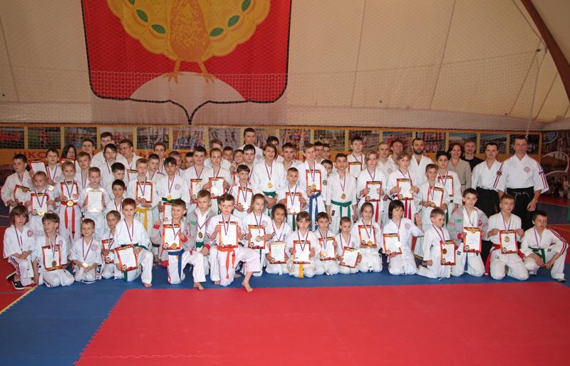 Первенство московской области по Косики каратэ. 2016 год
