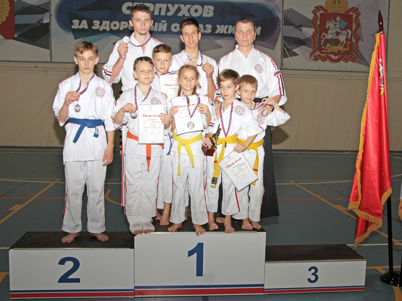 Чемпионат ЦФО по Косики каратэ. 2017 год
